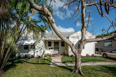 West Palm Beach Single Family Home For Sale: 837 Ardmore Road