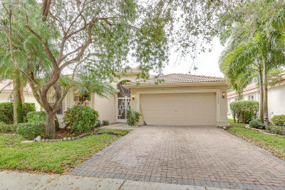 Boynton Beach Single Family Home For Sale: 11329 Vivero Avenue