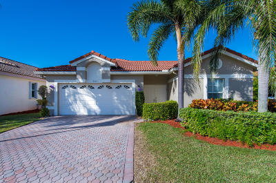 Boynton Beach Single Family Home For Sale: 9763 Lemonwood Terrace