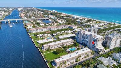 Delray Beach Condo For Sale: 2000 S Ocean Boulevard #406