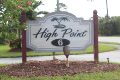 delray beach Single Family Home For Sale: 1372 High Point Way NE #C