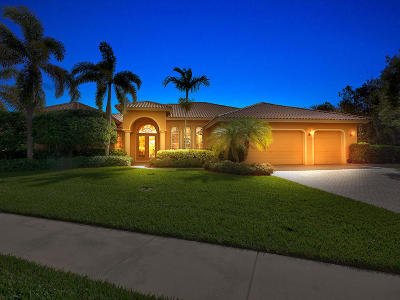 Hobe Sound Single Family Home For Sale: 8814 SE Bayberry Terrace