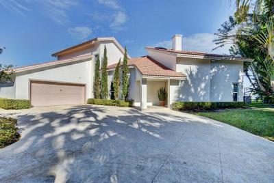 West Palm Beach Single Family Home For Sale: 4 Woodbrook Circle