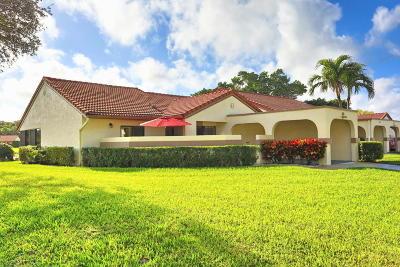 Boynton Beach Single Family Home For Sale: 5531 E Parkwalk Circle