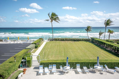 Palm Beach Condo For Sale: 3230 S Ocean Boulevard #312