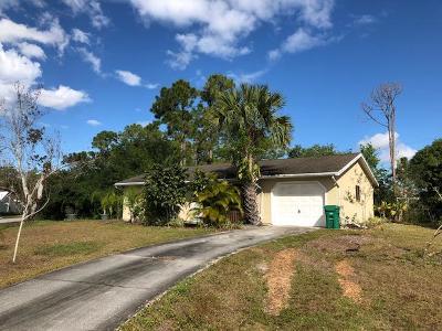 Port Saint Lucie Single Family Home For Sale: 811 SW Aviation Avenue