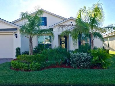 Port Saint Lucie Single Family Home For Sale: 11120 SW Vitalia Court