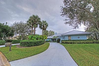 Stuart Single Family Home For Sale: 6366 SE Oakmont Place
