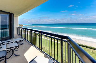 Palm Beach Condo For Sale: 3140 S Ocean Boulevard #403 S
