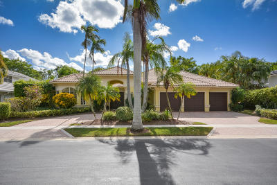 Boca Raton FL Single Family Home Contingent: $1,000,000
