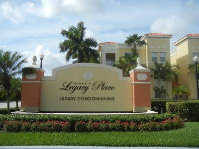 Palm Beach Gardens Condo For Sale: 11016 Legacy Drive #103