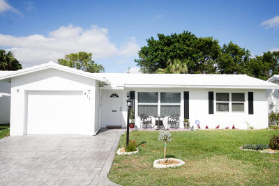 Pompano Beach Single Family Home For Sale: 411 NW 26th Court