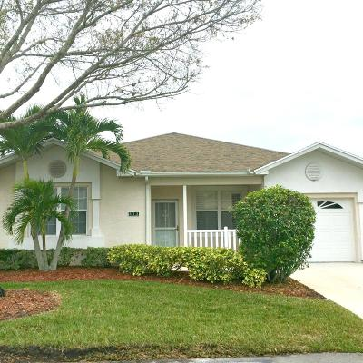 Port Saint Lucie Single Family Home For Sale: 575 NW Cortina Lane