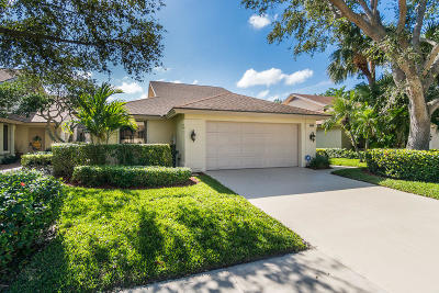 Jupiter Single Family Home For Sale: 208 River Park Drive
