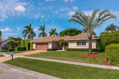 Boca Raton Single Family Home For Sale: 5777 Wind Drift Lane