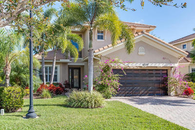 Palm Beach Gardens Single Family Home For Sale: 12137 Aviles Circle