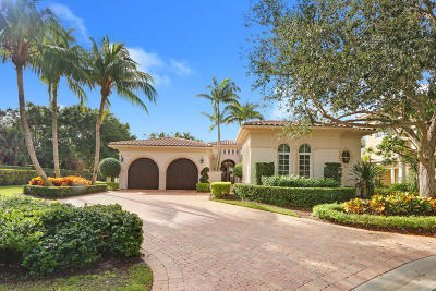 Palm Beach Gardens Single Family Home For Sale: 11101 Green Bayberry Drive
