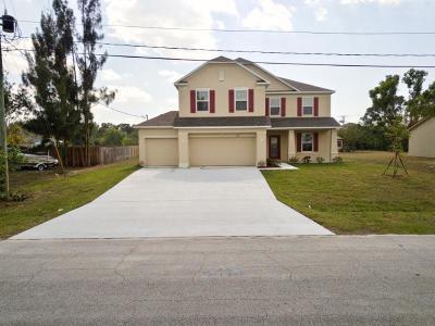 Port Saint Lucie Single Family Home For Sale: 3175 SW Ann Arbor Road