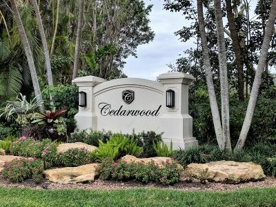Boca Raton Single Family Home For Sale: 7581 Cedarwood Circle