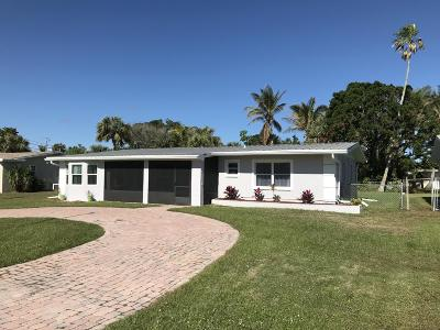 Hutchinson Island FL Single Family Home For Sale: $277,500