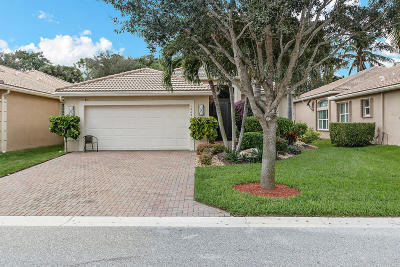 Boynton Beach Single Family Home For Sale: 10681 Richfield Way
