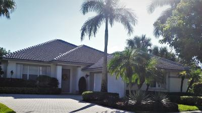 West Palm Beach Single Family Home For Sale: 9185 Bay Point Circle