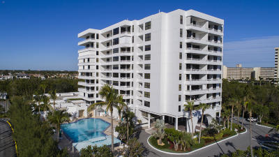 Highland Beach Condo For Sale: 3450 S Ocean Boulevard #606