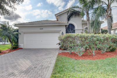 Boynton Beach Single Family Home For Sale: 12649 Via Ravenna