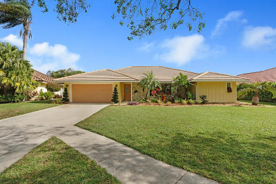Jupiter Single Family Home For Sale: 18444 Lost Lake Way
