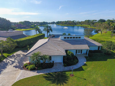 Palm Beach Gardens Single Family Home For Sale: 13225 Bonnette Drive