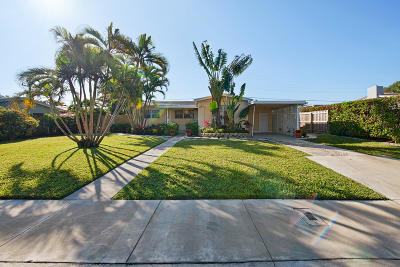 West Palm Beach Single Family Home For Sale: 252 Rutland Boulevard