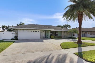 West Palm Beach Single Family Home For Sale: 2643 Starwood Circle