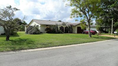 Coral Springs Single Family Home For Sale: 1322 NW 83rd Avenue