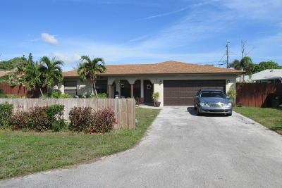 Delray Beach Single Family Home For Sale: 531 Jaeger Drive