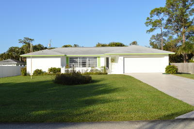 Lake Worth, Lakeworth Single Family Home For Sale: 92 Cleveland Road