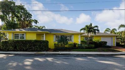 Lake Worth, Lakeworth Single Family Home For Sale: 211 4th Avenue