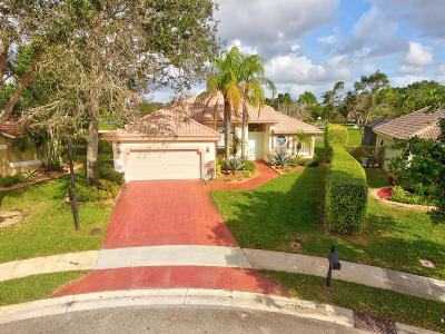 Boca Raton Single Family Home For Sale: 22286 Tupelo Place