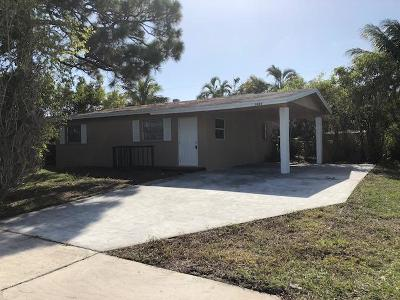 West Palm Beach Single Family Home For Sale: 5836 Purdy Lane