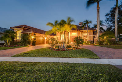 West Palm Beach Single Family Home For Sale: 6102 Wildcat Run