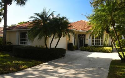 Palm Beach Gardens Single Family Home For Sale: 169 Lost Bridge Drive