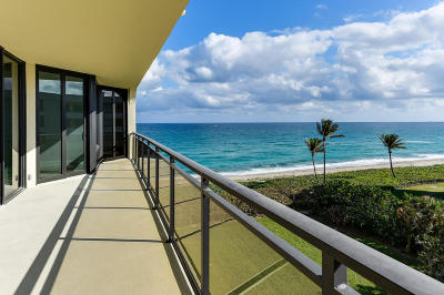 Palm Beach Condo For Sale: 3100 S Ocean Boulevard #505 S