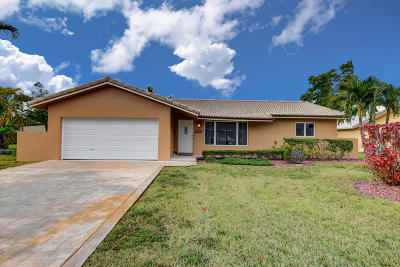 Coral Springs Single Family Home For Sale: 10355 NW 41st Street