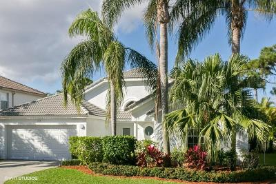Palm Beach Gardens Single Family Home For Sale: 193 Bent Tree Drive