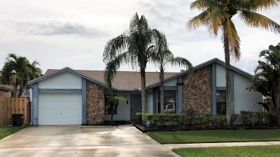 Boca Raton Single Family Home For Sale: 11418 Country Sound Court