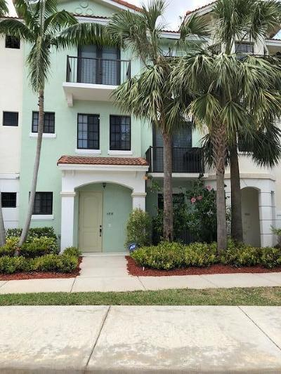 Boca Raton Townhouse For Sale: 4858 NW 16th Avenue NW