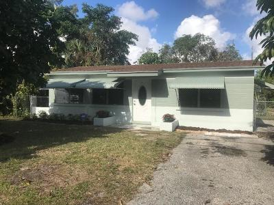 Delray Beach Single Family Home For Sale: 511 NW 3rd Street