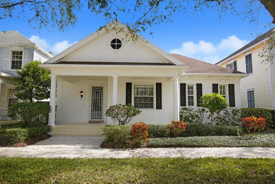 Jupiter Single Family Home For Sale: 125 Date Palm Drive