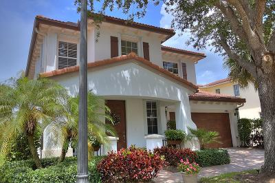 Palm Beach Gardens Single Family Home For Sale: 425 Pumpkin Drive