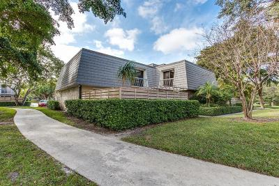 Palm Beach Gardens Townhouse For Sale: 1008 10th Terrace