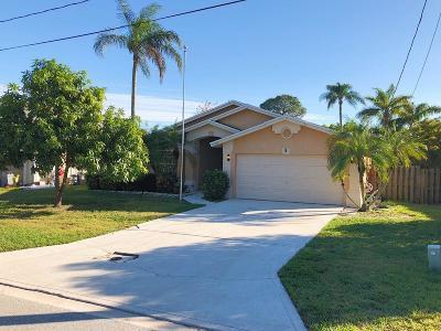 Jupiter Single Family Home For Sale: 6510 Leslie Street
